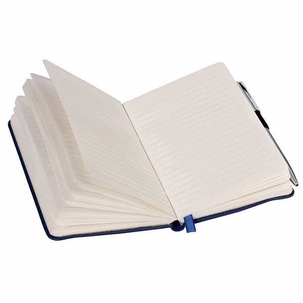 A6 Note Book With Elastic And Pen