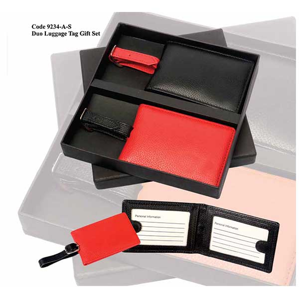 Duo Luggage Tag Gift Set