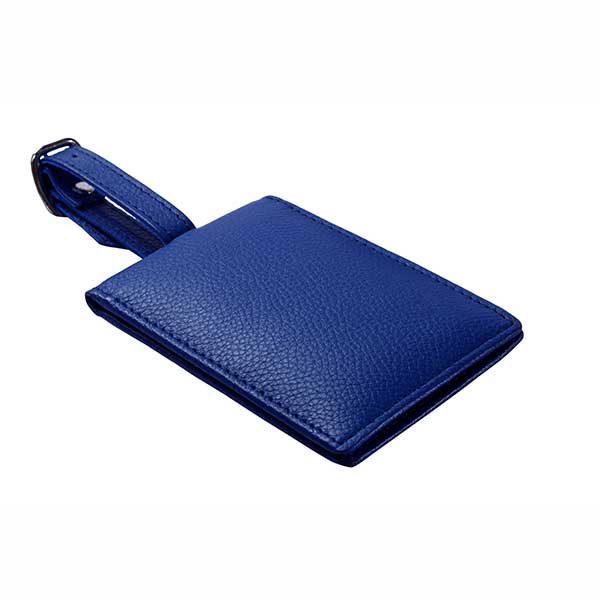 Foldable Luggage Tag cum Card Case with Magnetic Closure