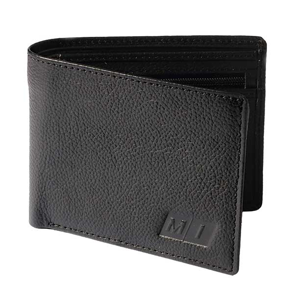 Tonal Leather Wallet