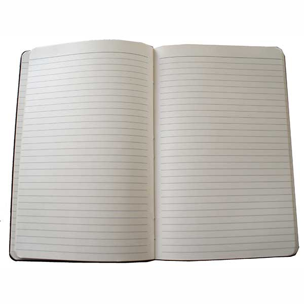 A5 Note book with elastic for closure